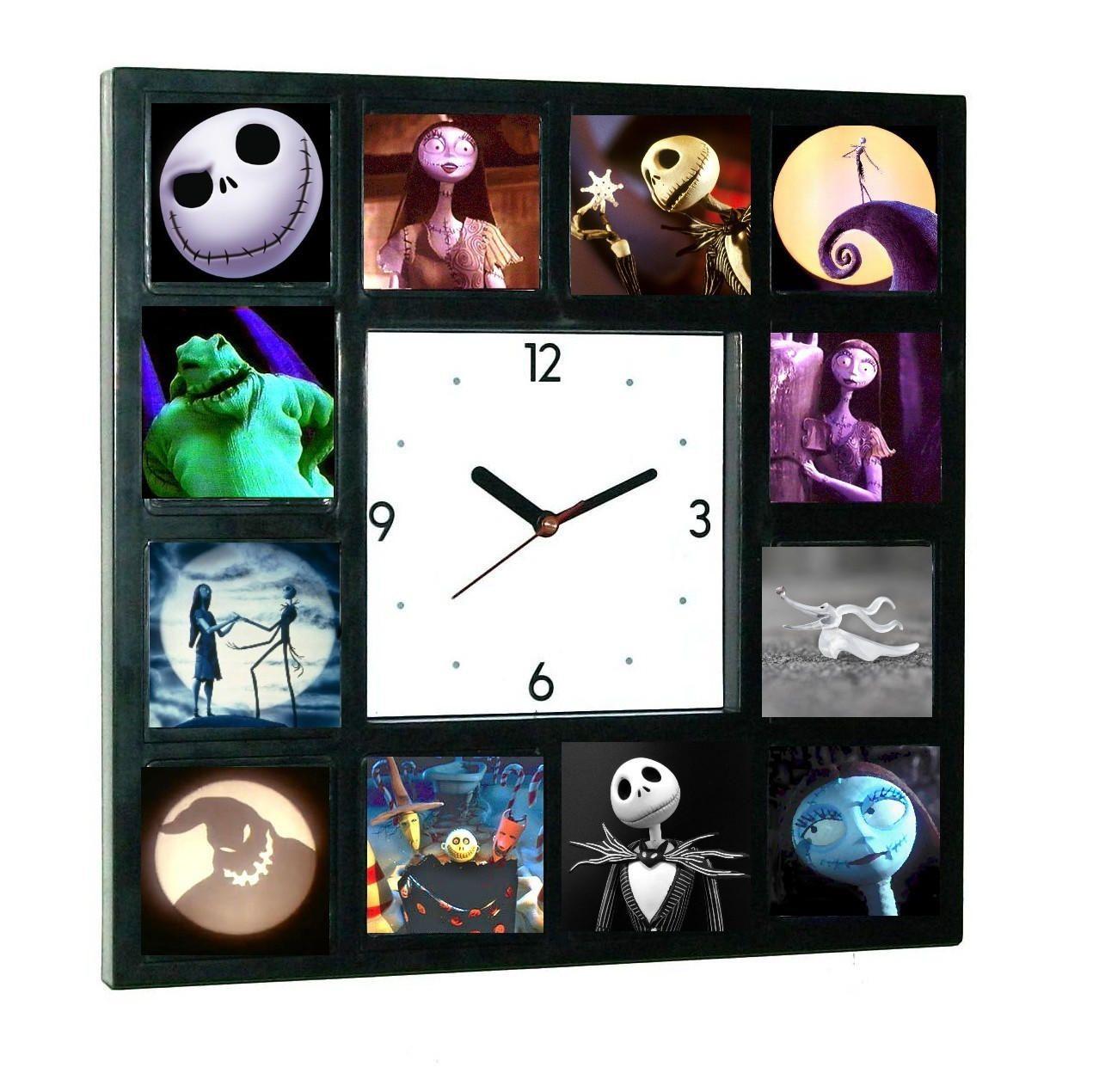 The Nightmare Before Christmas Glow In The Dark 12 Clock