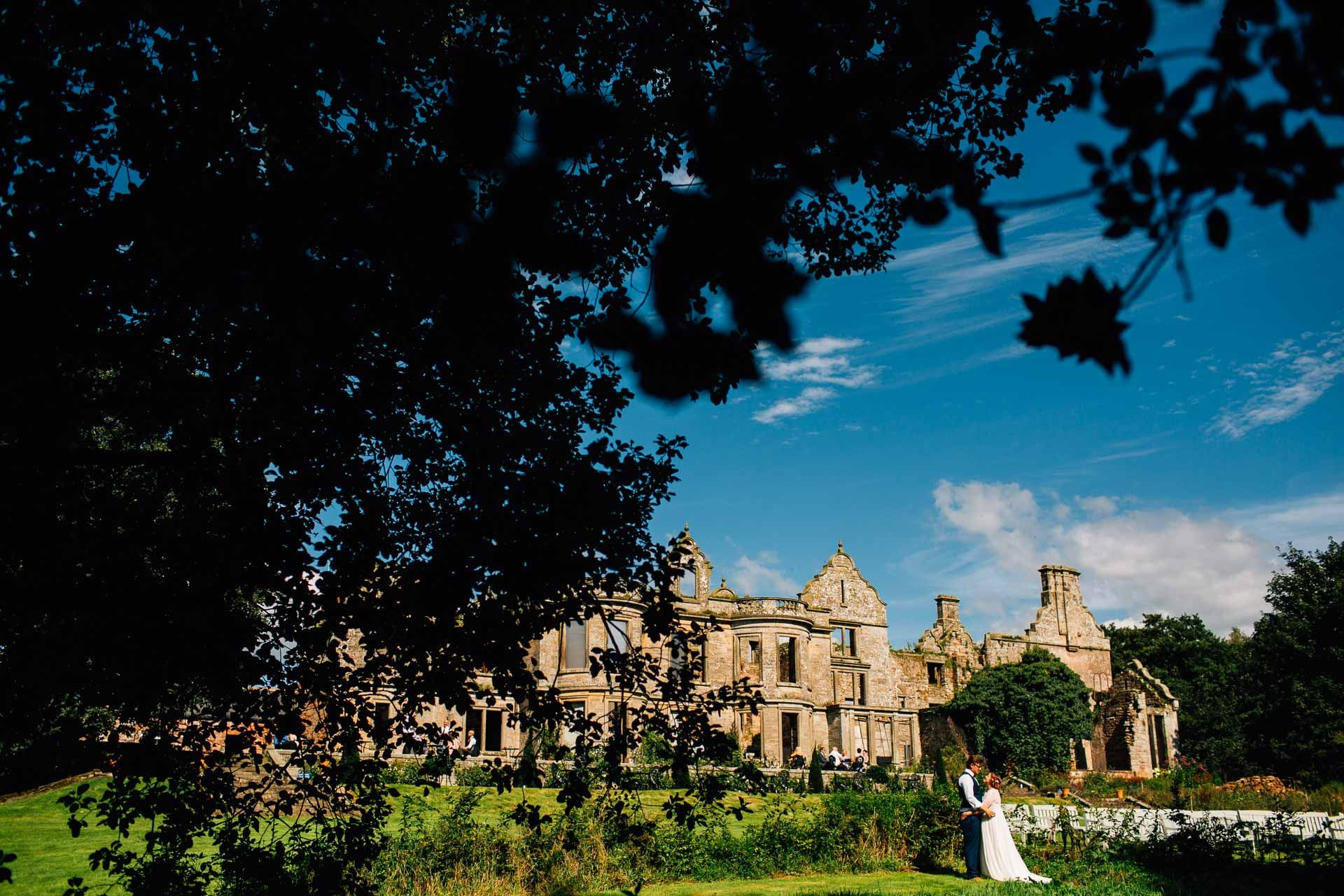 Bria Wedding Venue Kirklinton Hall Ruins Of Manor House In The Lake District Quirky And Unusual Outdoor Location England