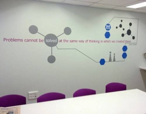 office wall decor stickers - Office Wall Decor