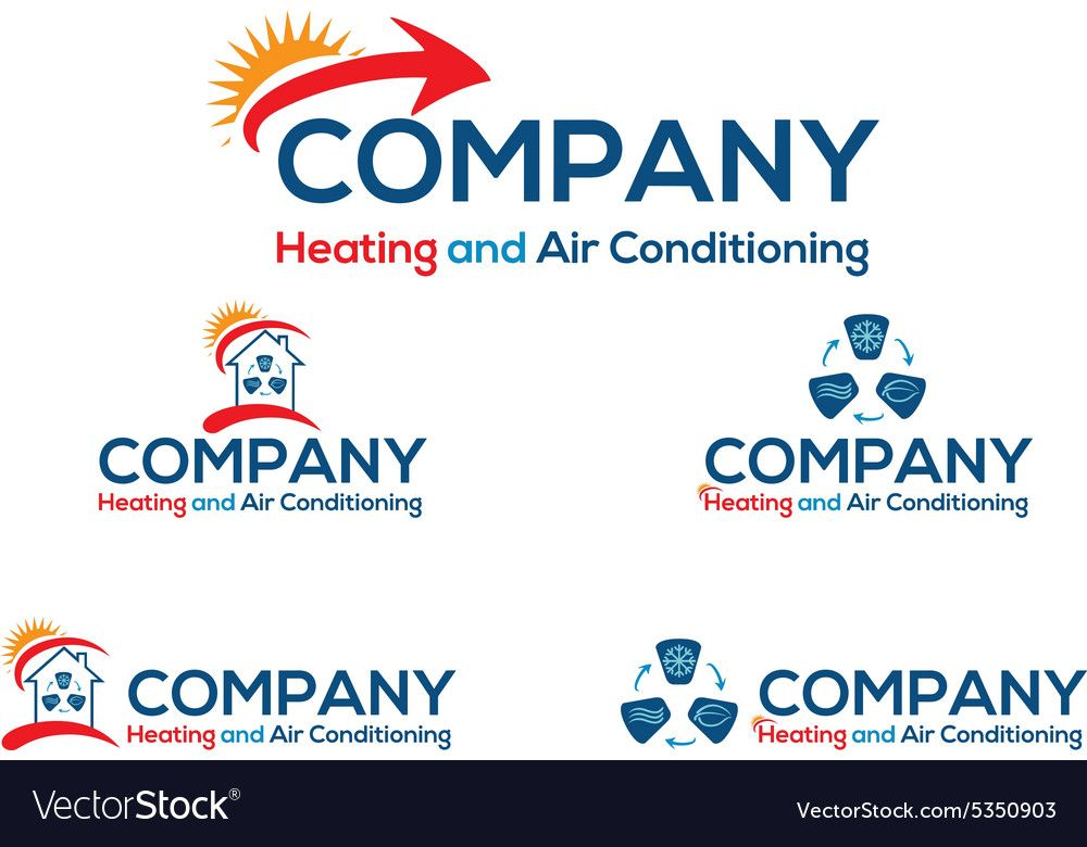 Air Conditioning Logo Vector Image On Air Conditioning Logo