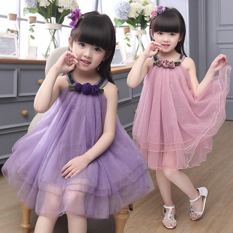 Cheap Los niños vestidos 2016 nuevas muchachas del verano vestido ...