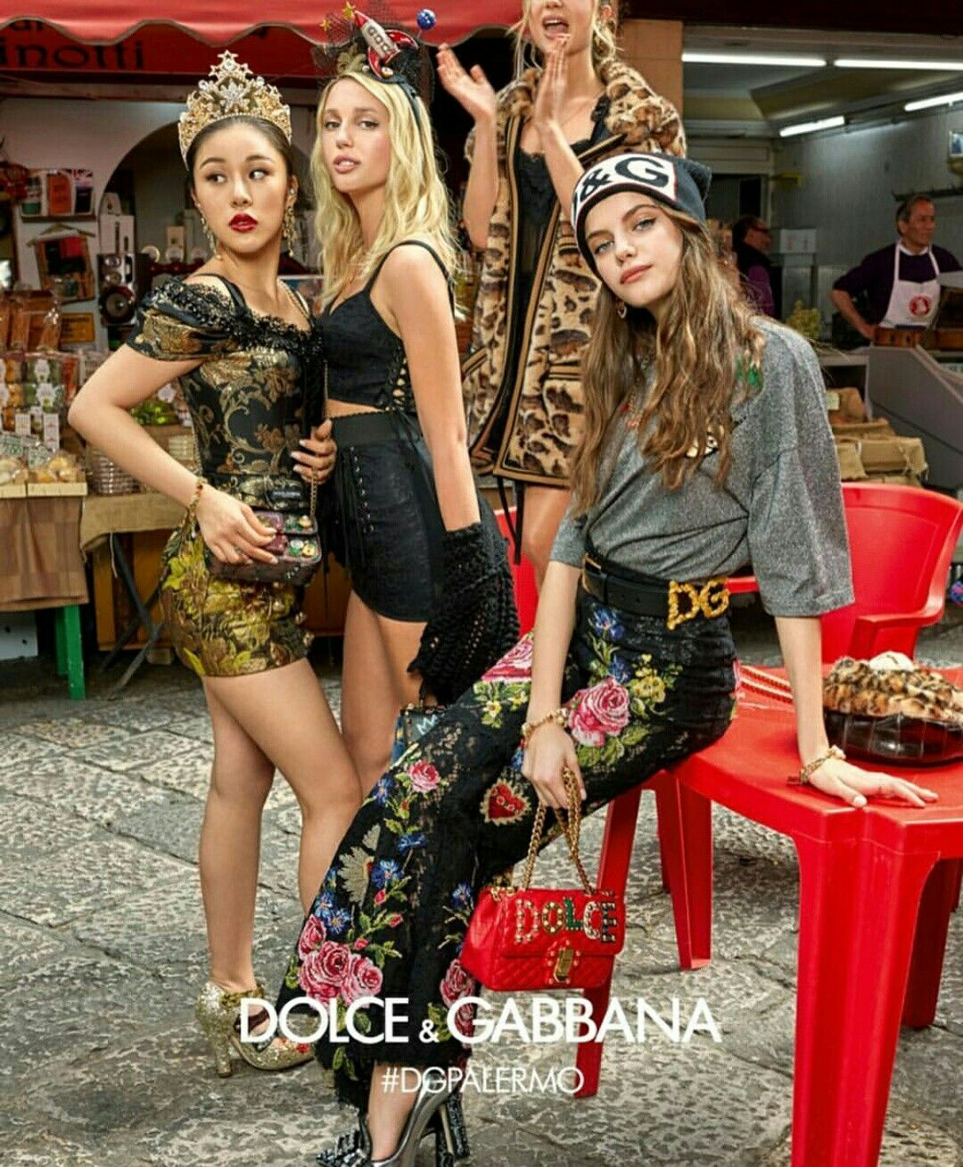 524b097ff60 Italian fashion brand Dolce   Gabbana continues its focus on Millennials  with the release of its fall-winter 2017 campaign. Photographed on location  in Pal
