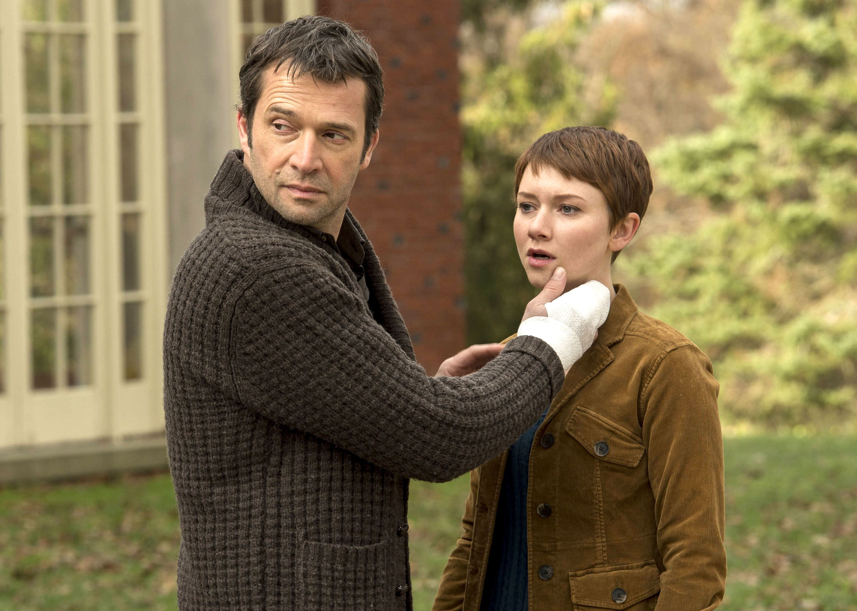 James Purefoy as Joe Carroll and Valorie Curry as Emma Hill; The Following (2013-14)