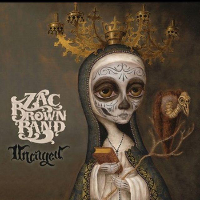 Zac Brown Band Uncaged Zac Brown Band Zack Brown Band