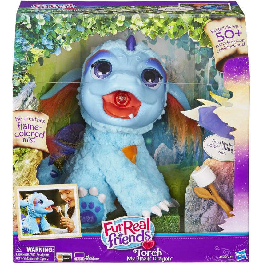 Furreal Friends Torch My Blazin Dragon Original Brand Toy Top Quality New Furreal Fur Real Friends Pet Dragon Little Live Pets