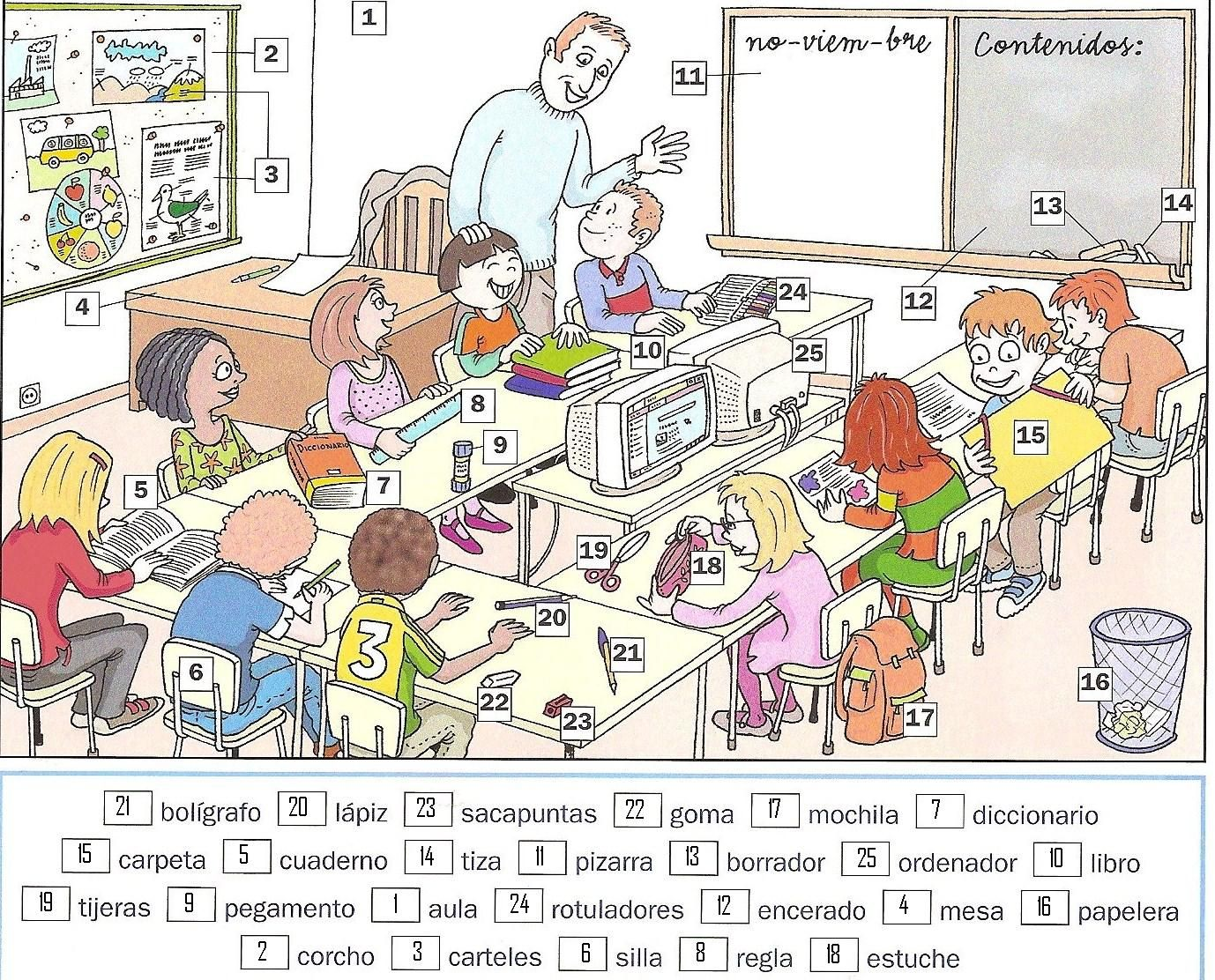 La clase | Education | Pinterest | School