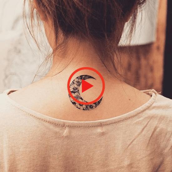 85+ Glorious Moon Tattoos & Types - Media Democracy