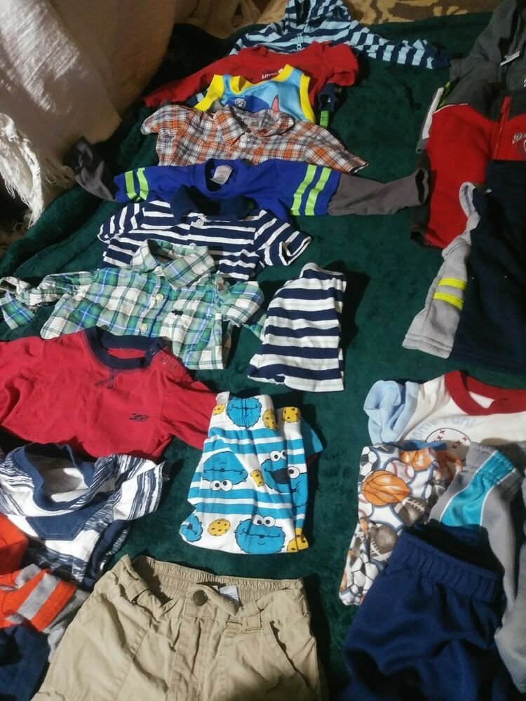 12 Month Old Baby Boy Clothes 27 Piece Lot Gently Used Fashion Clothing Shoes Accessories Babytoddlerclothin Baby Boy Outfits Boy Outfits One Piece Outfit