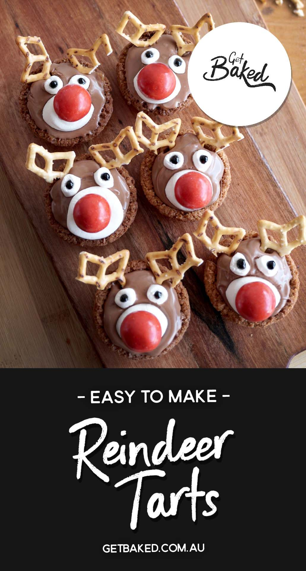 Chocolate Reindeer Christmas Tarts Ingredients Tarts 1 X 250g