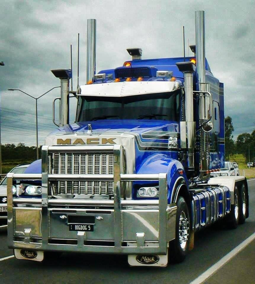 Mack Truck Rod Before And After: Cars &trailers