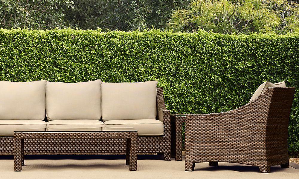 Hedge rooms restoration hardware outdoor sofa outdoor