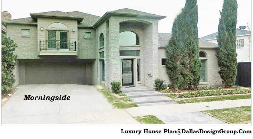 The Morningside - luxury house Plan 972-907-0080