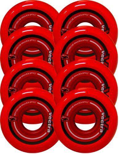 KRYPTONICS VECTRA 64mm 82a Inline Wheels SET OF 8 by TGM
