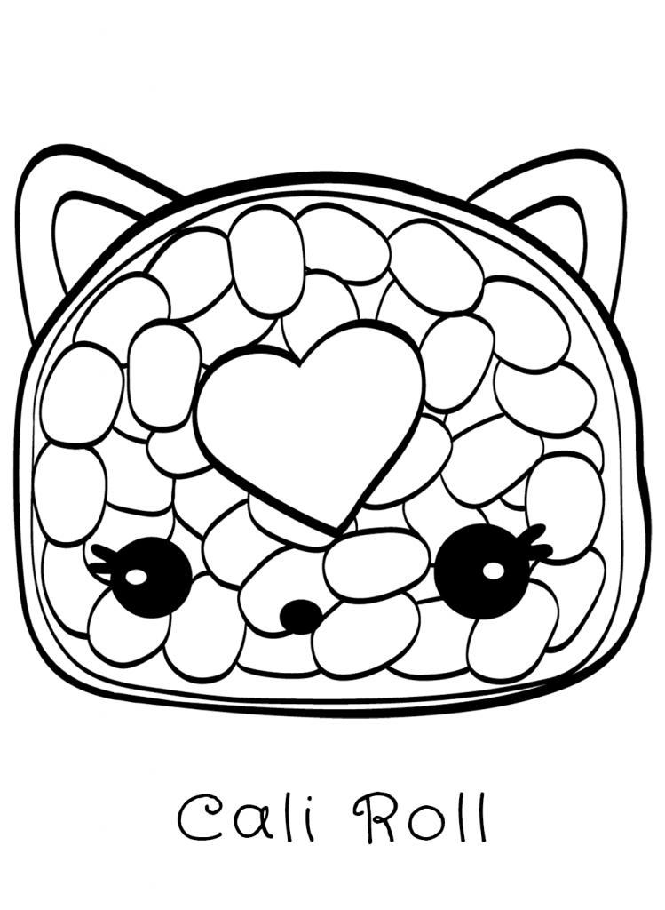 Num Noms Coloring Pages   Toys and Action Figure Coloring ...