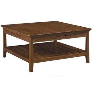 Incredible Cherry Park Square Coffee Table In Natural Cherry Nebraska Cjindustries Chair Design For Home Cjindustriesco