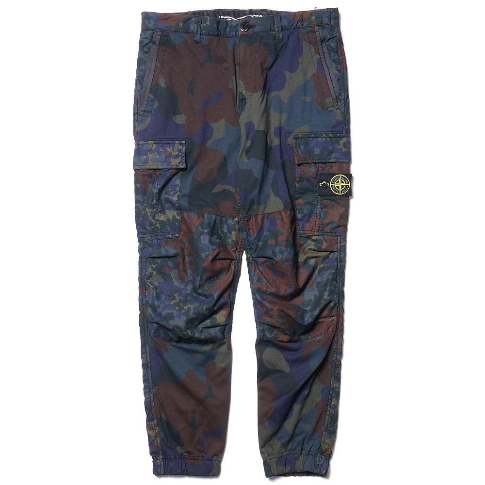 suche nach neuestem ganz nett günstige Preise Stone Island Cargo Camo Double Face Pant   Camo love