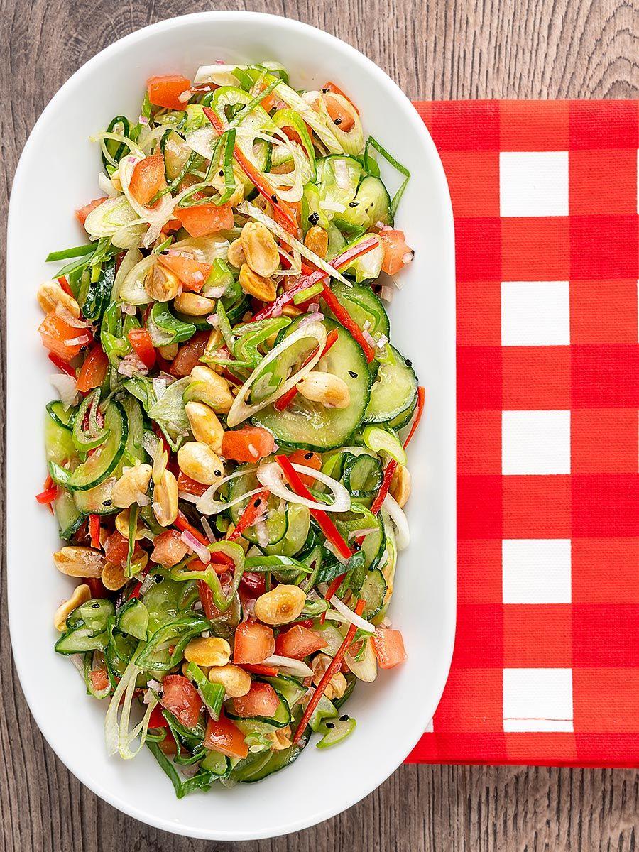 spicy cucumber salad  recipe  spicy cucumber salad