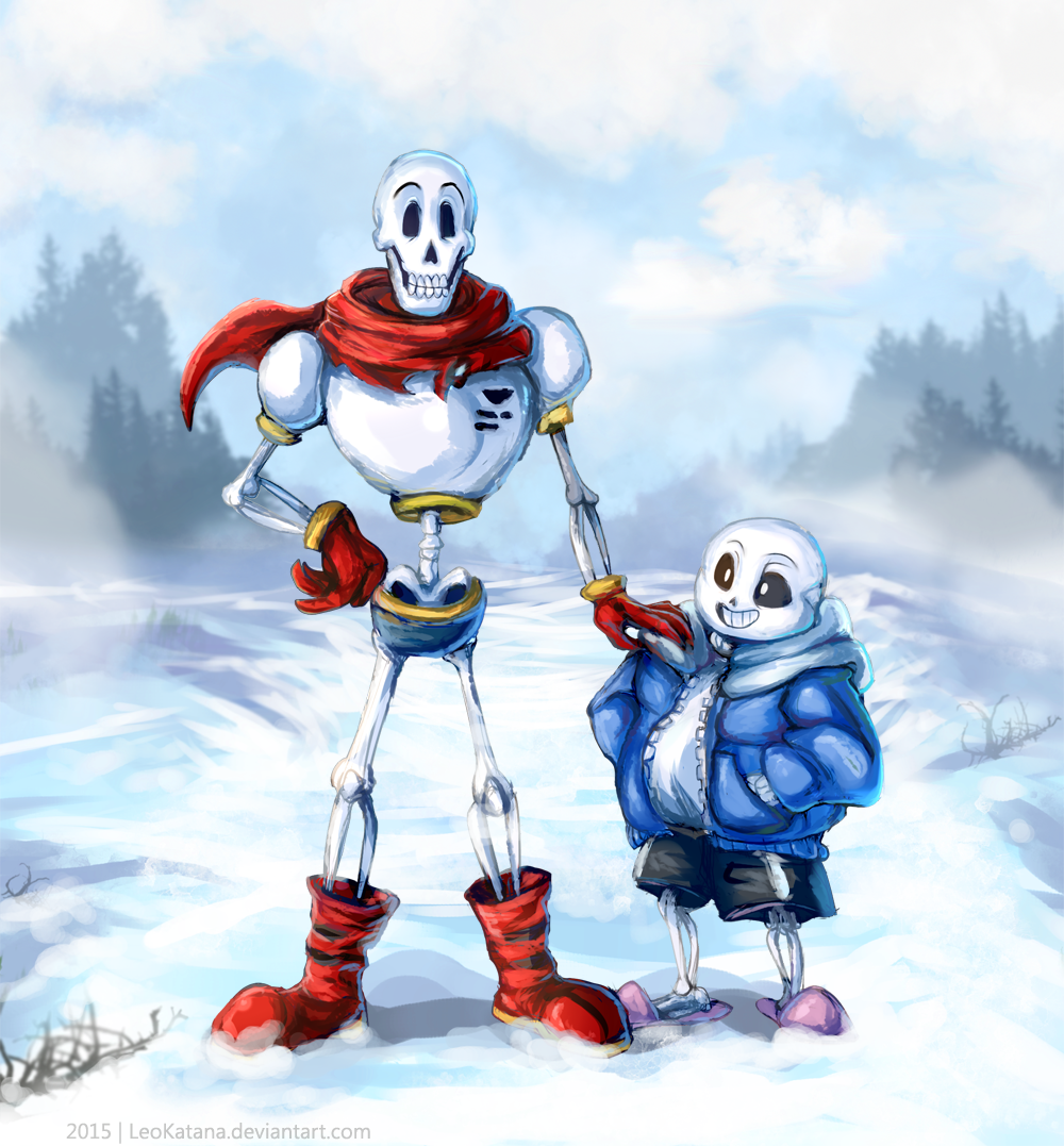 =Undertale= Papyrus and Sans by