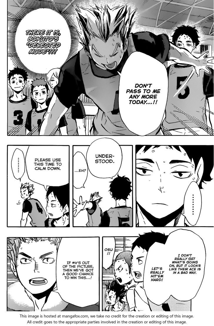 "Haikyuu!! 95: The State of the ""ACE"" at MangaFox.me"