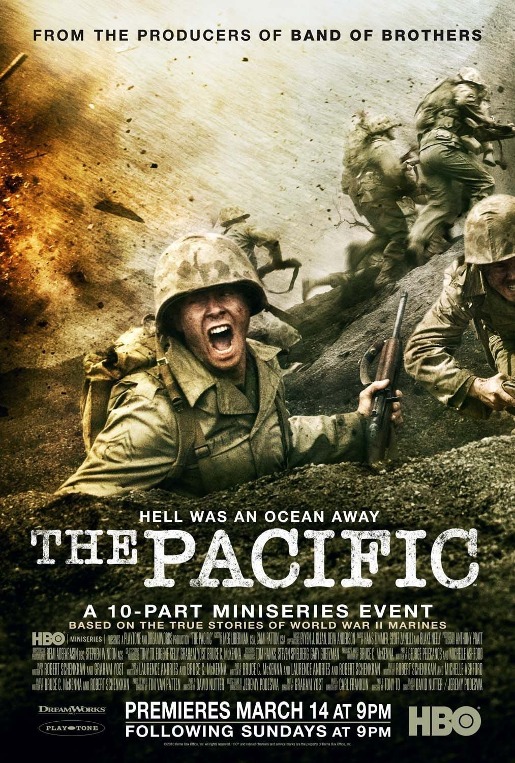 The pacific hbo mini series 2010 tv series ive seen and loved a companion to the hbo miniseries focuses on the real life stories of five u armed servicemen who fought the key battles against japan during world war ii fandeluxe Choice Image