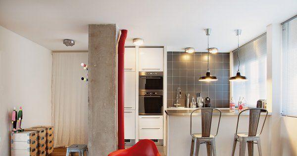48m2 restructurés pour plus de modernité Small apartment interior