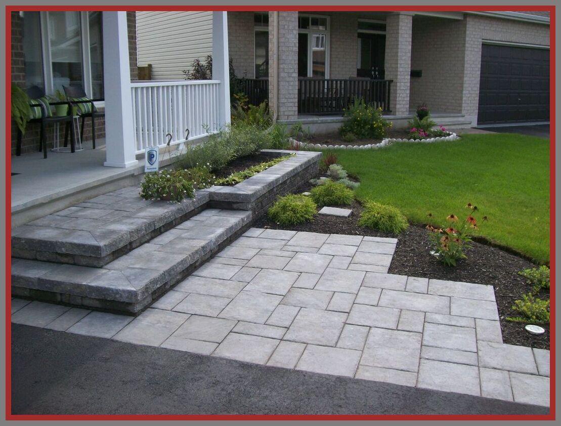 42 Reference Of Landscape Design Front Yard Steps In 2020 Front Walkway Landscaping Walkway Landscaping Driveway Design