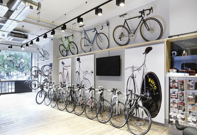 Ten More Of The World S Coolest Bike Shops Cyclingtips In 2020 Bicycle Shop Bike Shop Bicycle Cafe