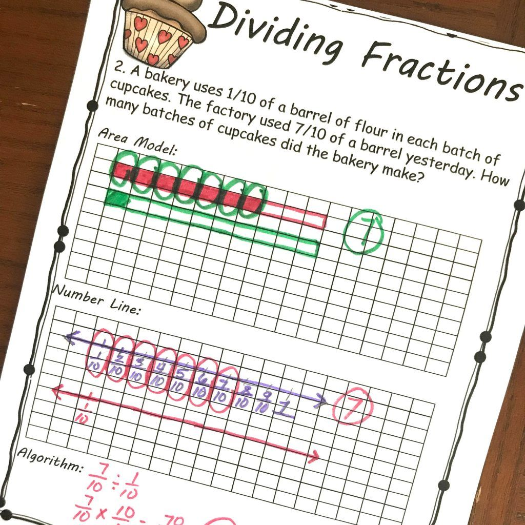 Free Yummy Word Problems For Dividing Fractions By
