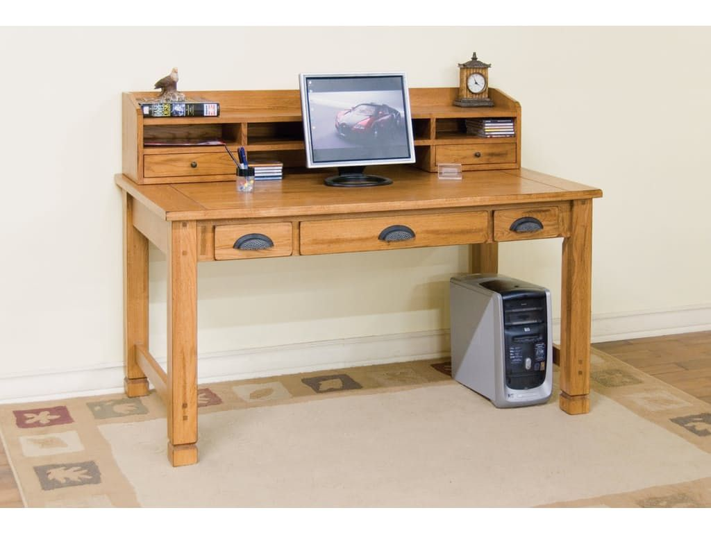 Sunny Designs Home Office Sedona Laptop/Writing Desk 2865RO   Eastern  Furniture   Santa Clara