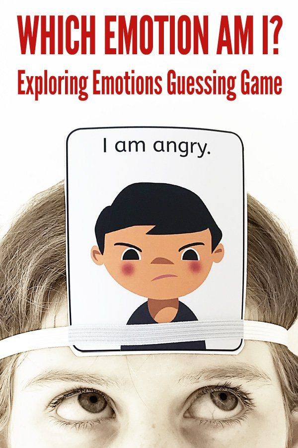 Helping Children Develop Emotional >> Which Emotion Am I Exploring Emotions Guessing Game Toddler