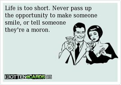 Either way, life is too short. ;)