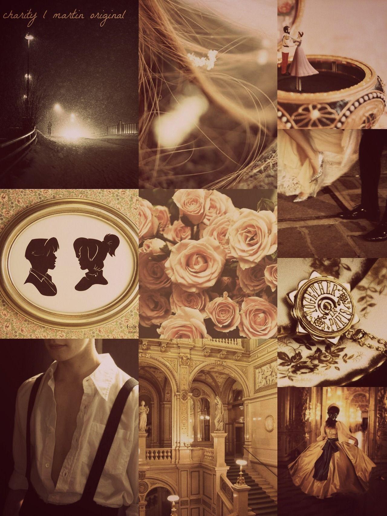 """94eb0ddb18fd Anastasia x Dimitri Mood Board """"We were strangers"""