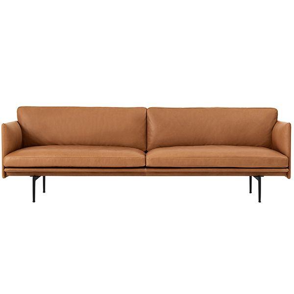 Outline Sofa 3 Seater Sofa Furniture Versatile Sofa Leather Sofa