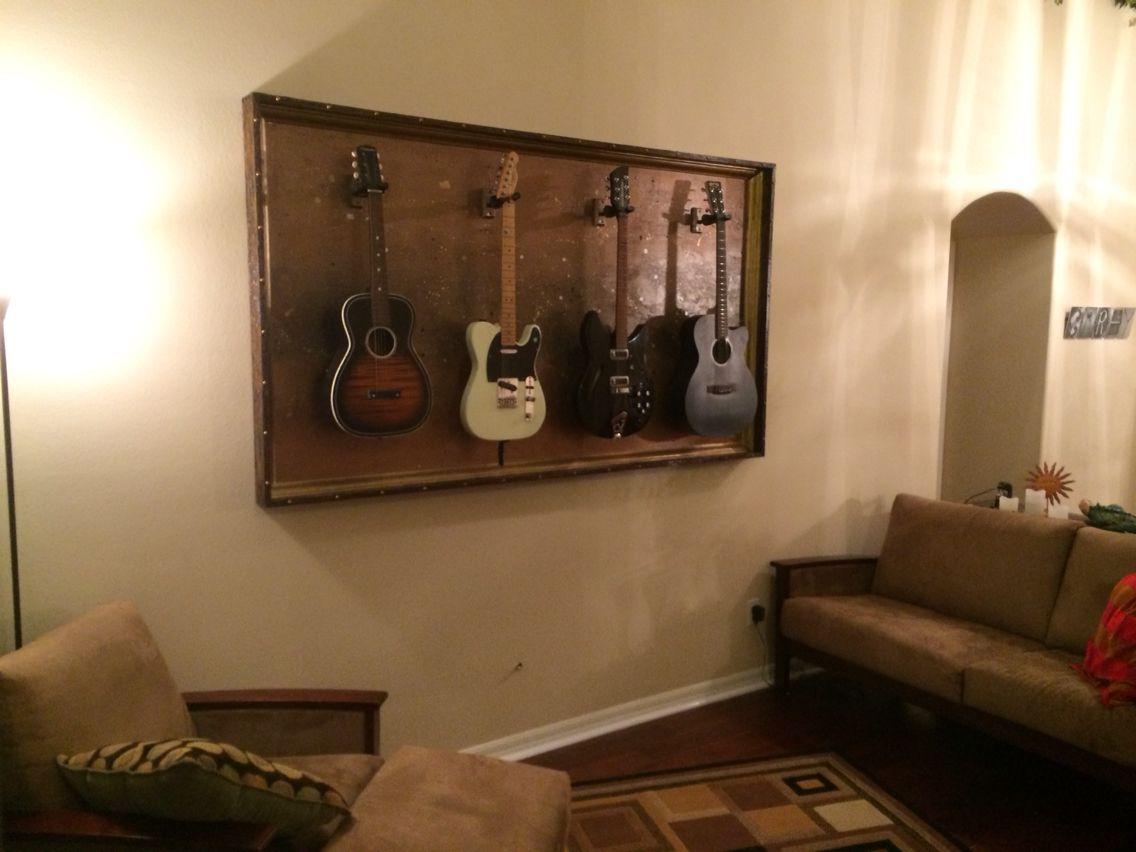 gFrames com - custom guitar display cases | Guitar Display