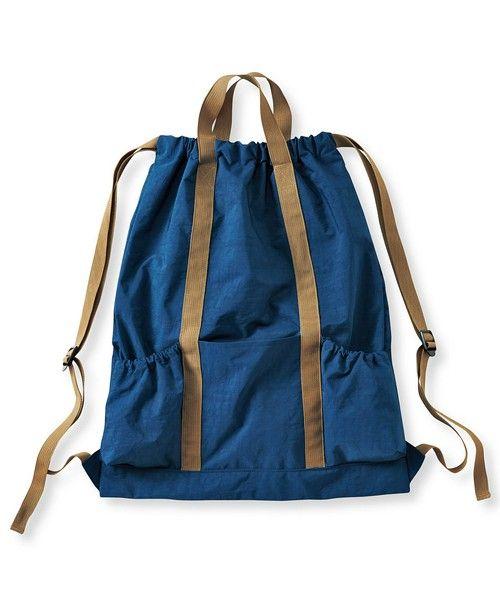 a6a6c1997a85 両面使える 軽くて丈夫なナイロンナップサック(バックパック/リュック)|haco!(ハコ)のファッション通販 - ZOZOTOWN