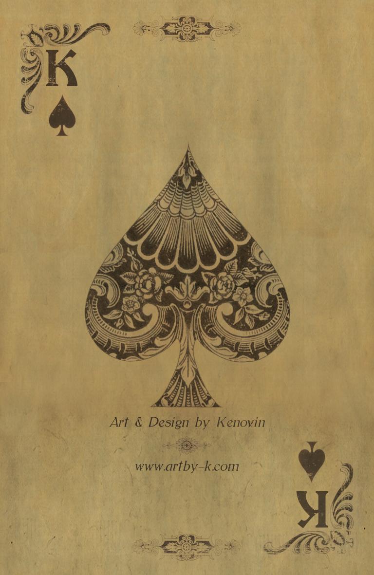 Spade | Kenovins card (back) | Raddest Men's Fashion Looks ...