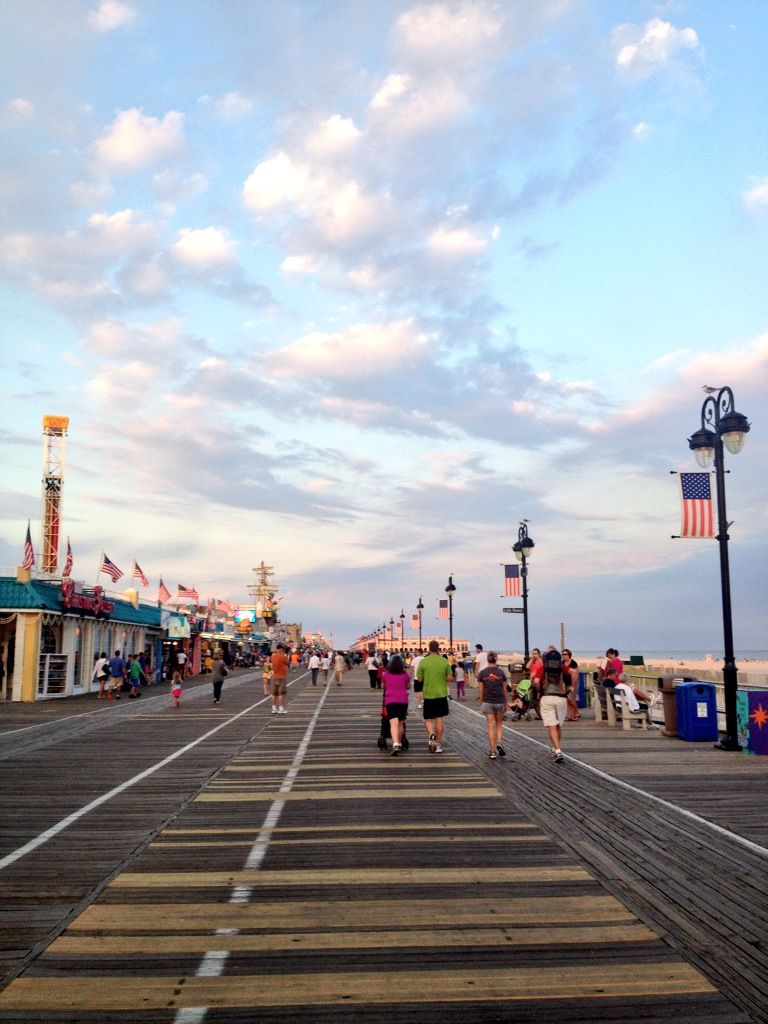 The #ocnj boardwalk after Labor Day!