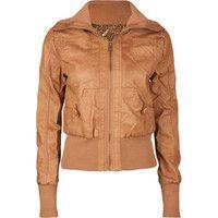 CI SONO Rib Knit Trim Womens Jacket 184349410 | jackets & vests | Tillys.com