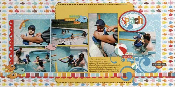 Splash! - Two Peas in a Bucket 6 photos. summer. pool. beach. water.
