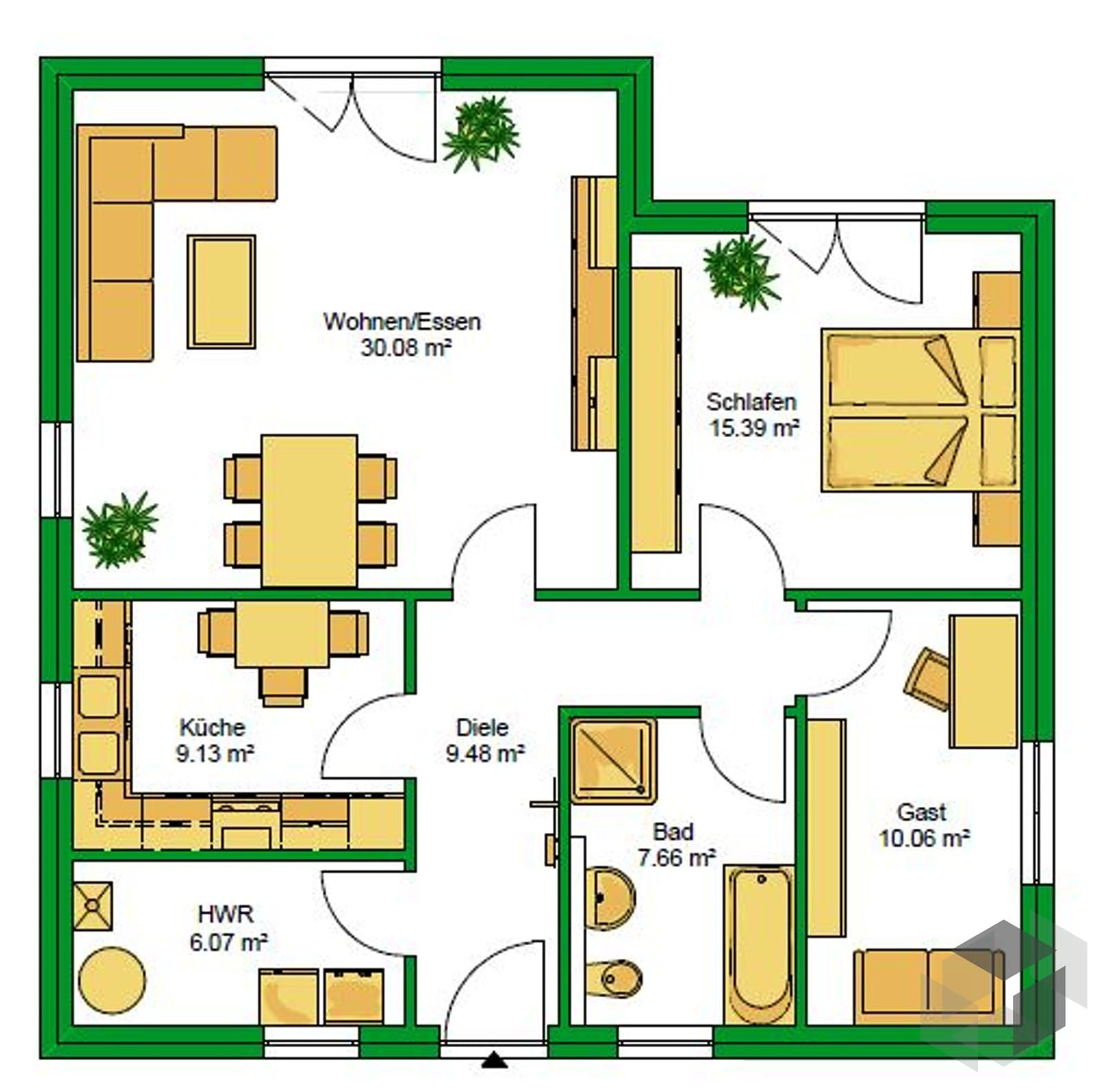 4 Zimmer Wohnung Rostock