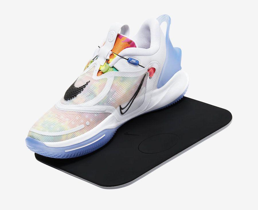 Nike Adapt Bb 2 0 Tie Dye Bq5397 100 Release Date Sbd In 2020 Nike Nike Kyrie Sneakers Nike