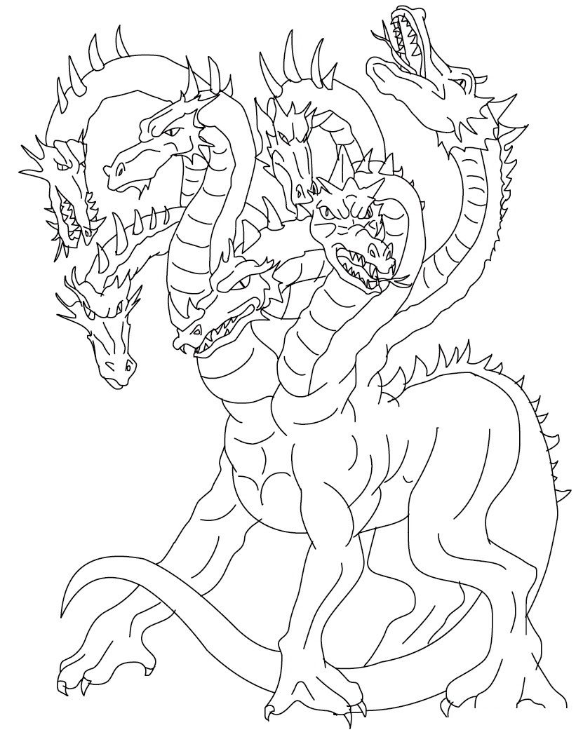 http://colorings.co/cool-dragon-coloring-pages/ | Colorings | Pinterest