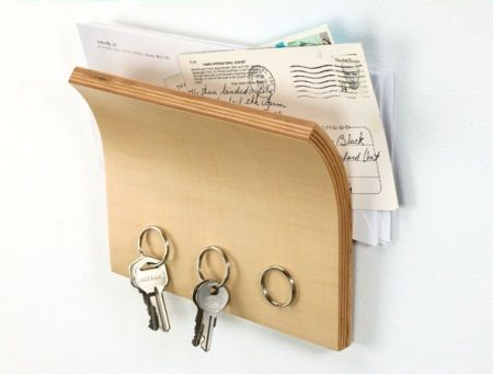Key & Post Rack - how perfectly practical and necessary   home sweet ...