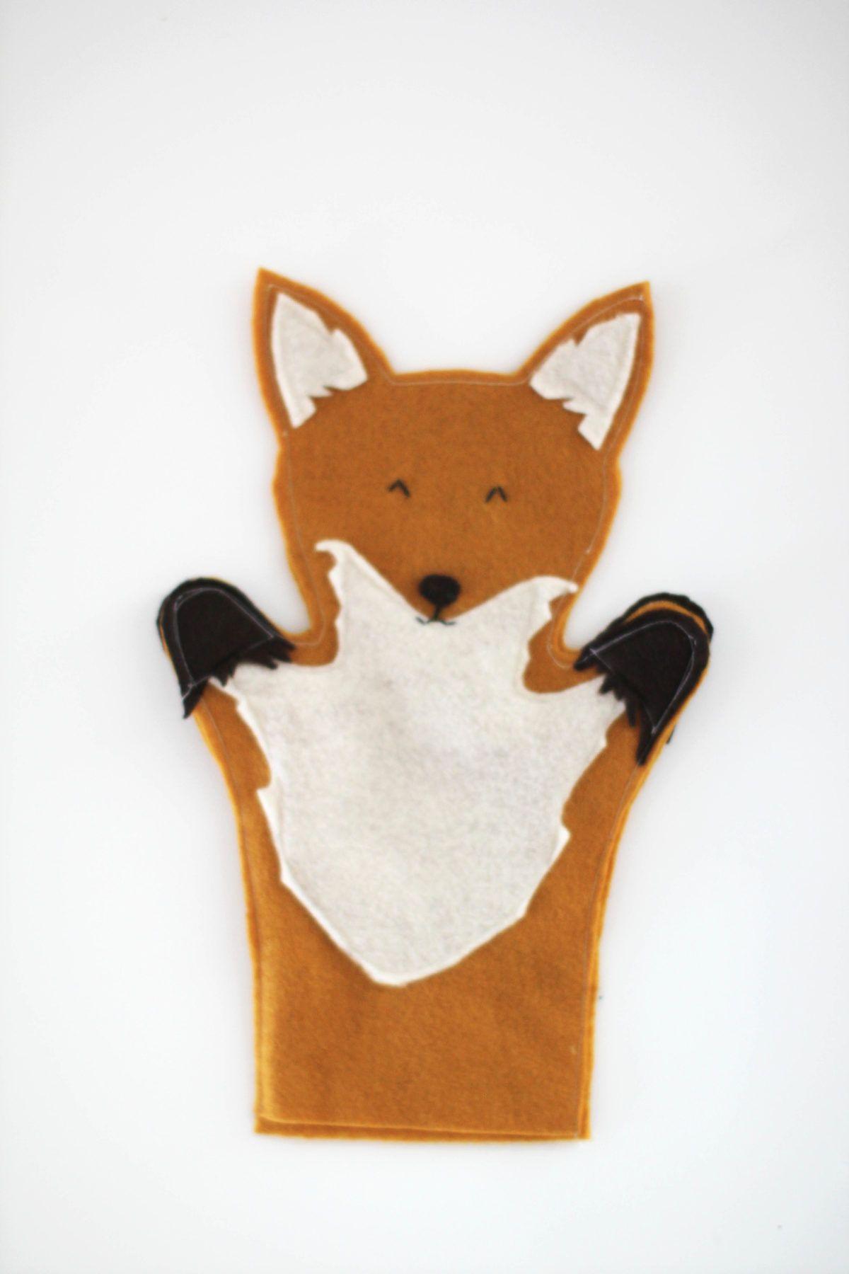 Easy DIY Hand Puppets #handpuppets