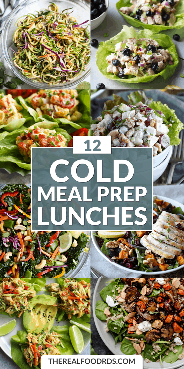 Photo of 12 Cold Meal Prep Lunches