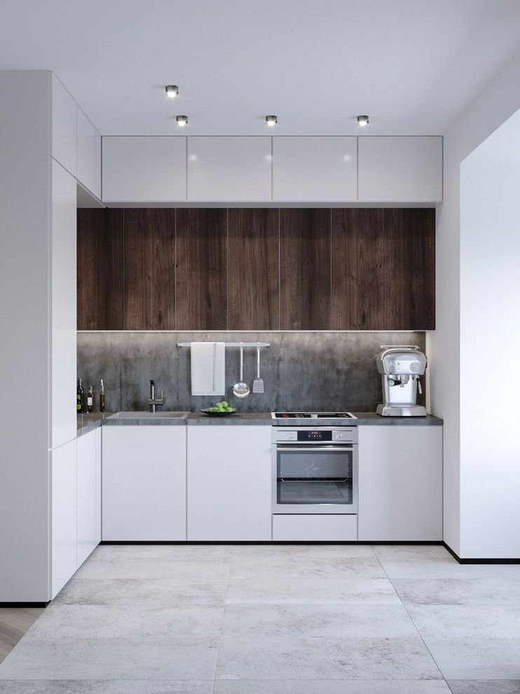 studio apartment eat in kitchen small modern l shaped ceramic floor and gray floor eat in on interior design kitchen small modern id=53120