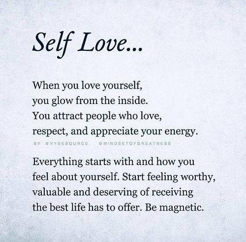 ❝ Self Love…