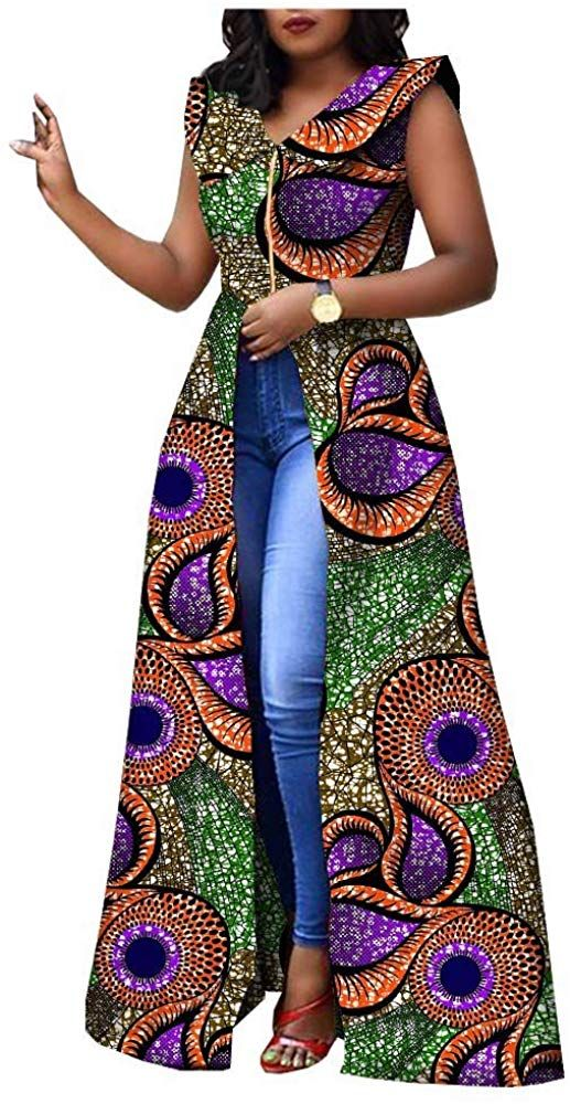 Top 20 Stylish African Print Dresses : Latest Styles For The Beautiful Ladies | Zaineey's Blog #africanprintdresses