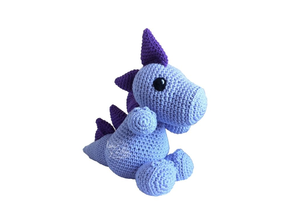 Free Dinosaur Crochet Pattern!! (appears to be in Spanish, but seems ...