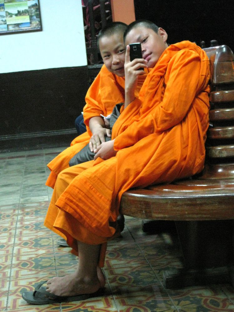 Weekly Snapshot Young Thai Monks Thai monk, a
